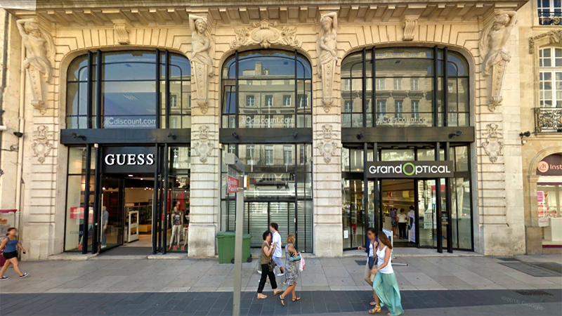 Transaction : location de 1 300 m² de locaux commerciaux à Bordeaux (33) à Basic-Fit