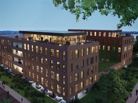 Immeuble de bureaux neufs - à vendre/à louer - Parc tertiaire Schiltigheim