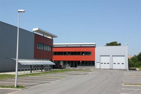 PARC D'ACTIVITÉ LE PHOENIX A STRASBOURG - Immeuble raccordé à la fibre optique