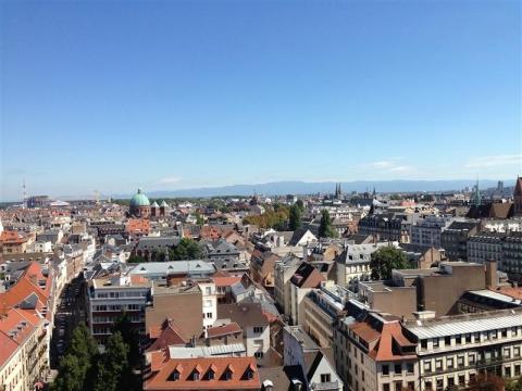 Bureaux dans immeuble IGH raccordé à la Fibre Optique à Strasbourg