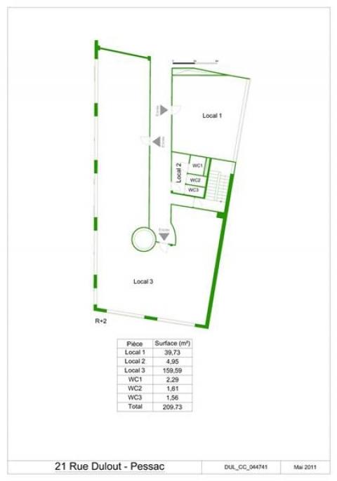 Location Bureaux PESSAC - Photo 6