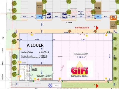 Location Commerces SAINT JEAN D'ILLAC - Photo 3
