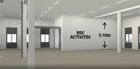 Locaux d'activités et bureaux neufs à vendre ou à louer - RER Les Grésillons