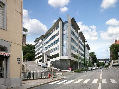 Immeuble tertiaire entier ou plateaux de bureaux à vendre et à louer - Valvert / Marietton - Lyon 9