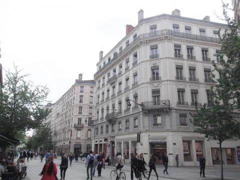 Bureaux à louer dans un quartier d'exception au cœur de la Presqu'île – Lyon 2