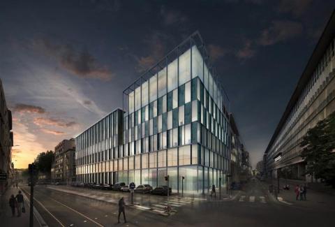 Rare : Bureaux lumineux neufs à louer à Lyon Part-Dieu / Palais de Justice