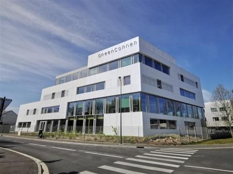 """A LOUER - """"GREEN CORNER"""" - SURFACES DE BUREAUX NEUVES DE 296 m² à 1 539 m²"""