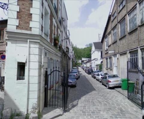 Villa Riberolle - Paris 20<br />Location de bureaux - 80 m²