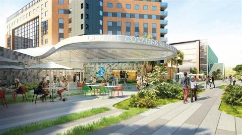 Locaux commerciaux de 71 m² à 232 m² à louer dans le centre commercial Toulouse Compans Caffarelli