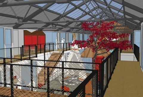 BUREAUX D'ENVIRON 977 m² DIVISIBLES A LOUER A TOURS CENTRE