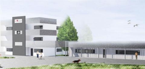 A louer/à vendre plusieurs surfaces de bureaux de 225 à 925 m² en bordure de RN12