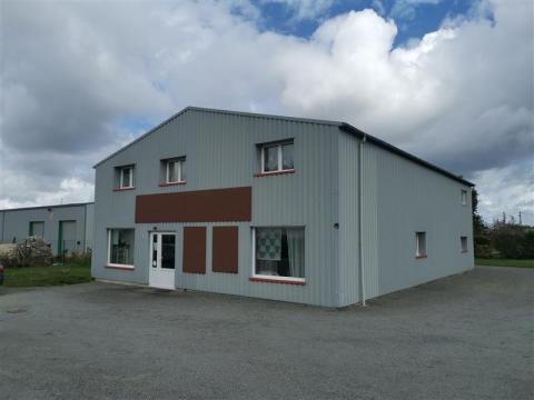 A louer local d'activités de 360 m² avec showroom et bureaux