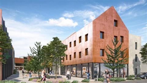Bureaux de 115 à 967 m² - Accès rapide RN12 et centre-ville